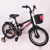 """Детский Велосипед """"SPEED FIELDS-16"""" Black, фото 1"""