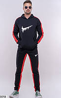 Костюм мужской спортивный темный,мужские спортивные штаны,одежда мужская зима,спортивный черный костюм мужской