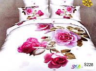 Комплект постельного белья ELWAY сатин 3D 228