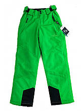 Дитячі салатові лижні штани