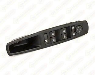 Блок кнопок переключателя стеклоподъёмников на Renault Scenic III 09->16 — Renault (Оригинал) - 809610016R