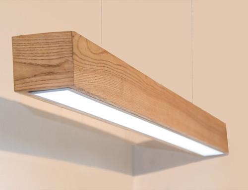 Светодиодный деревянный линейный светильник Vela Viga