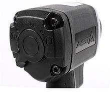 Гайковерт пневматический ASTA A-SD850 1/2' 850NM + комплект головок, фото 3
