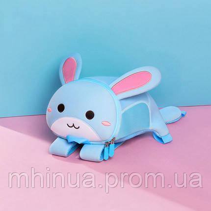 Дитячий рюкзак Nohoo Зайчик, Середній розмір (NH042M Blue)