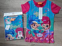 Футболки для девочек оптом, Disney, 3-8 лет, арт. 962-355