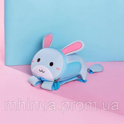 Дитячий рюкзак Nohoo Зайчик, Маленький розмір (NH042S Blue)