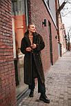 Женская модная шуба новинка из искусственного меха каракуля ()утепленгая, фото 9