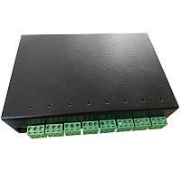 Умная GSM розетка Elgato 8 каналов IRON / DIN транзитная Черная (hub_RDiP52829)
