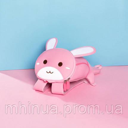 Дитячий рюкзак Nohoo Зайчик, Маленький розмір (NH042S Pink), фото 2