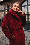 Женская модная шуба новинка из искусственного меха каракуля ()утепленгая, фото 3