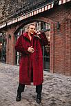 Женская модная шуба новинка из искусственного меха каракуля ()утепленгая, фото 2