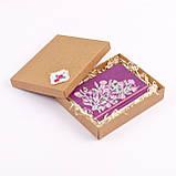 """Блокнот Ладна """"Ельфійські квіти"""" А5 фіолетовий, фото 2"""