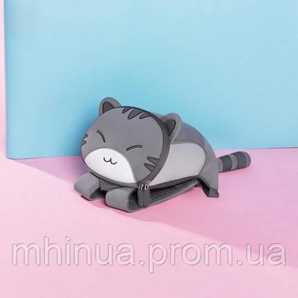 Дитячий рюкзак Nohoo Котик, Маленький розмір (NH041S Grey), фото 2