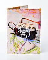 Обложка на паспорт фото Travel
