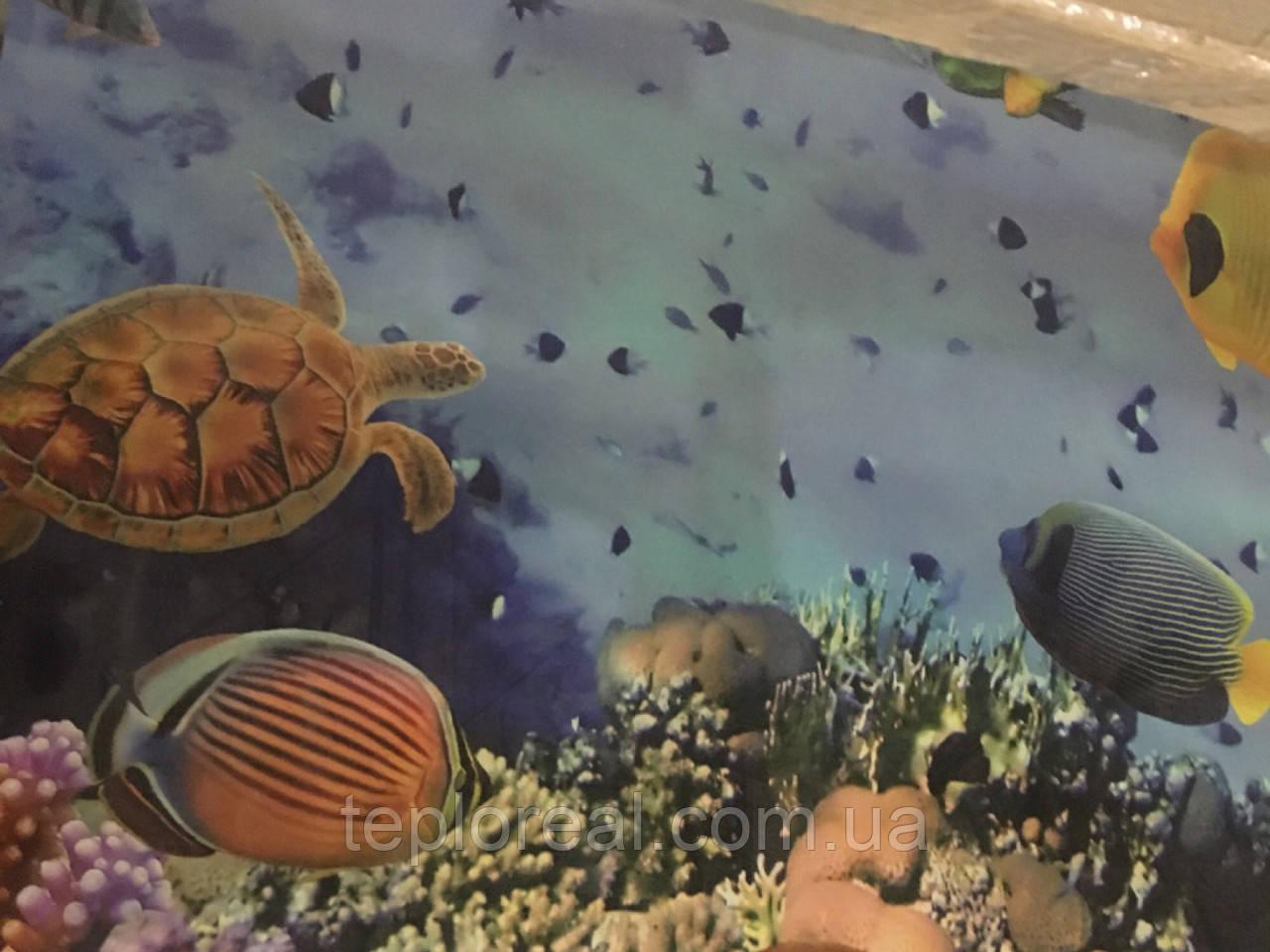 Керамический обогреватель с картинкой 525 Вт ТМ Камин