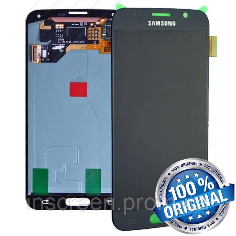 Дисплейний модуль для Samsung Galaxy S6 (G920F) чорний (GH97-17260A) Оригінал