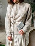 Женский стиляжный костюм: свитер  и юбка( качество  премиум)2 цвета, фото 5