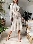 Женский стиляжный костюм: свитер  и юбка( качество  премиум)2 цвета, фото 4