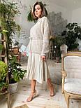 Женский стиляжный костюм: свитер  и юбка( качество  премиум)2 цвета, фото 2