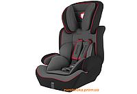 Детское автокресло для ребенка LIONELO LEVI 9-36 кг Польша Черное с красным