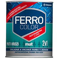 """Краска Chemolak """"Ferro color"""" 0,75 л. матовая черная"""