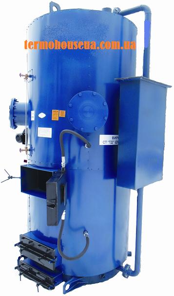 Парогенератор длительного горения на дровах Идмар СБ 500 кВт (800 кг/ч)