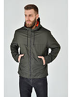 Мужская куртка ветровка Riccardo Z1в Хакі