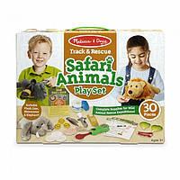 """Игровой набор """"Помощь животным сафари"""", 30 предметов, NEW,  Melissa&Doug"""