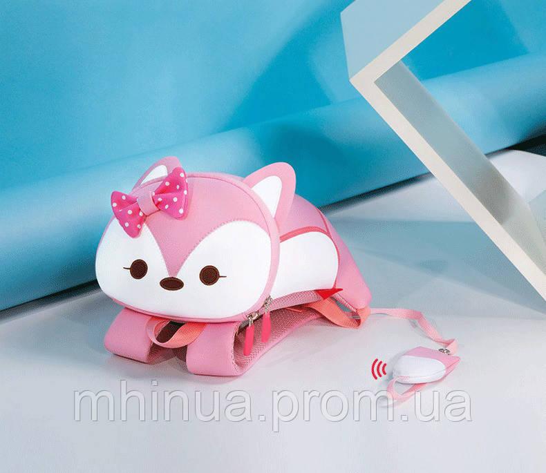 Детский рюкзак Nohoo Лисенок, Средний размер, Розовый (NHB101M)