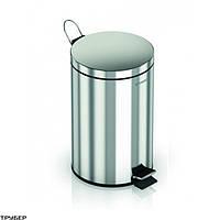 Ведро для мусора GENWEC GW06 02 04 02 на 5 л. хром