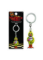 Фигурка - брелок Collectible Figural Keychain Five Nights at Freddy`s - Chica and Mr Cupcake 3.6 см