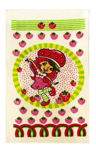 Кухонное полотенце махровое Issi Home 30х50 Девочка Клубничка