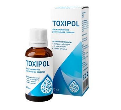 Токсипол – концентрат от глистов и паразитов