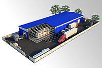 Строительство прямостенных складов