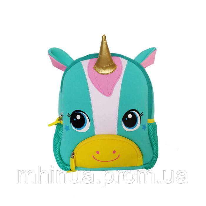 Дитячий рюкзак Nohoo Єдиноріг (TQ3001 Blue)