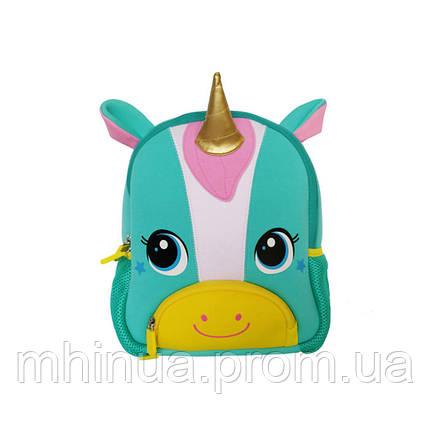 Дитячий рюкзак Nohoo Єдиноріг (TQ3001 Blue), фото 2
