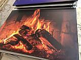 Керамічний обігрівач з конвекцією малюнком і терморегулятором 700 Вт, фото 3