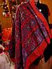 Жіночий великий хустку, шарф, шаль кольоровий палантин 1.20 на 1.20, фото 5