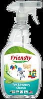 Органическое очищающее средство-концентрат для детской комнаты и игрушек Friendly organic 650 мл
