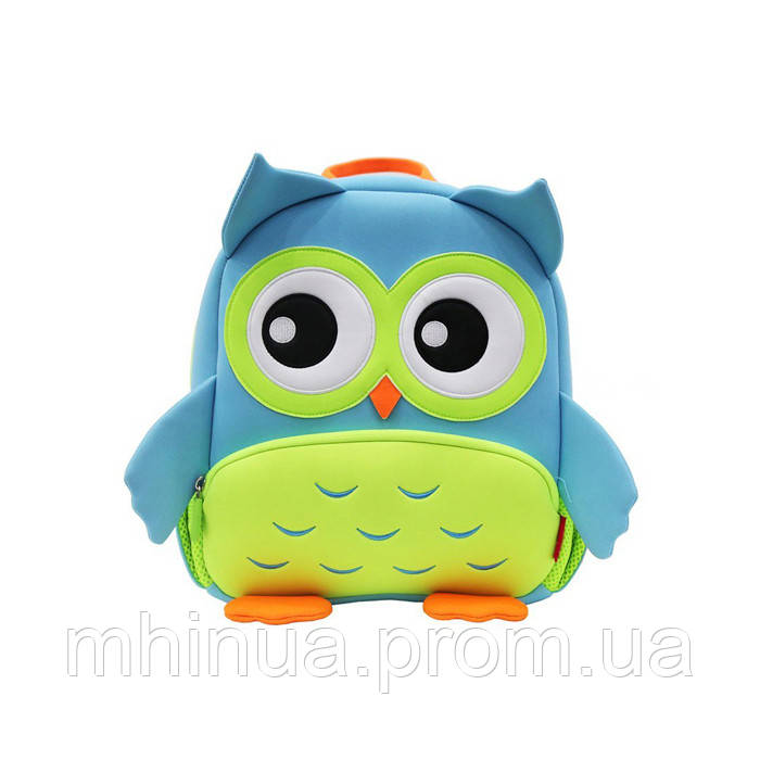 Дитячий рюкзак Nohoo Сова (GY298 Blue)