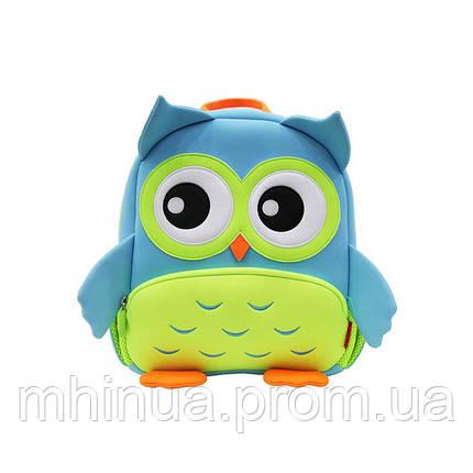 Детский рюкзак Nohoo Сова (GY298 Blue), фото 2