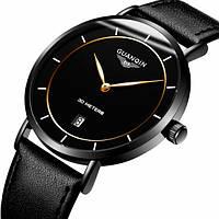 Guanquin Мужские классические кварцевые часы GS Guanquin Millionare 8804