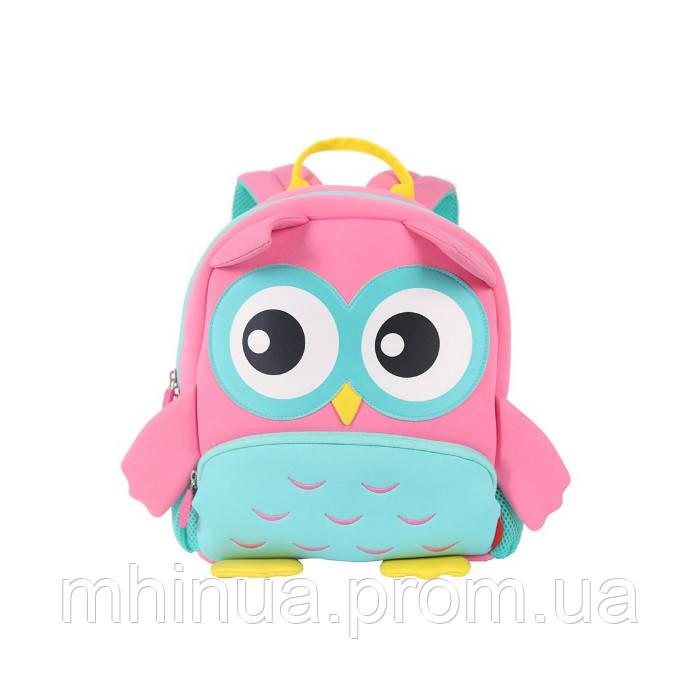 Дитячий рюкзак Nohoo Сова (GY298 Pink)