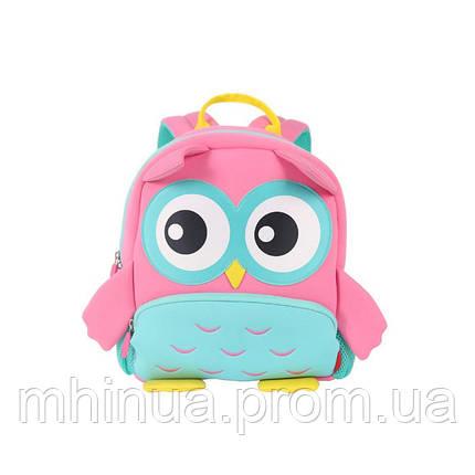 Дитячий рюкзак Nohoo Сова (GY298 Pink), фото 2