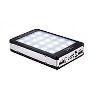 Power bank LED + Solar павер банк 90000mah (реальная емкость 8000 mAh), фото 1
