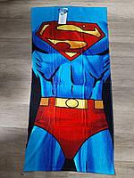 Рушник пляжний Super - man від Disney 140/70 cm.