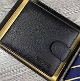 Кошелек X.D.BOLO  портмоне кожаный черный  09012 k 5, фото 3