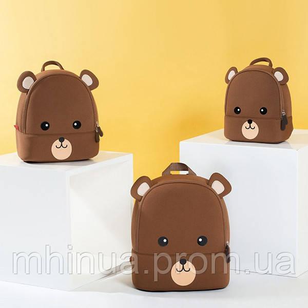 Дитячий рюкзак Nohoo Ведмедик Середній(NHB249M)