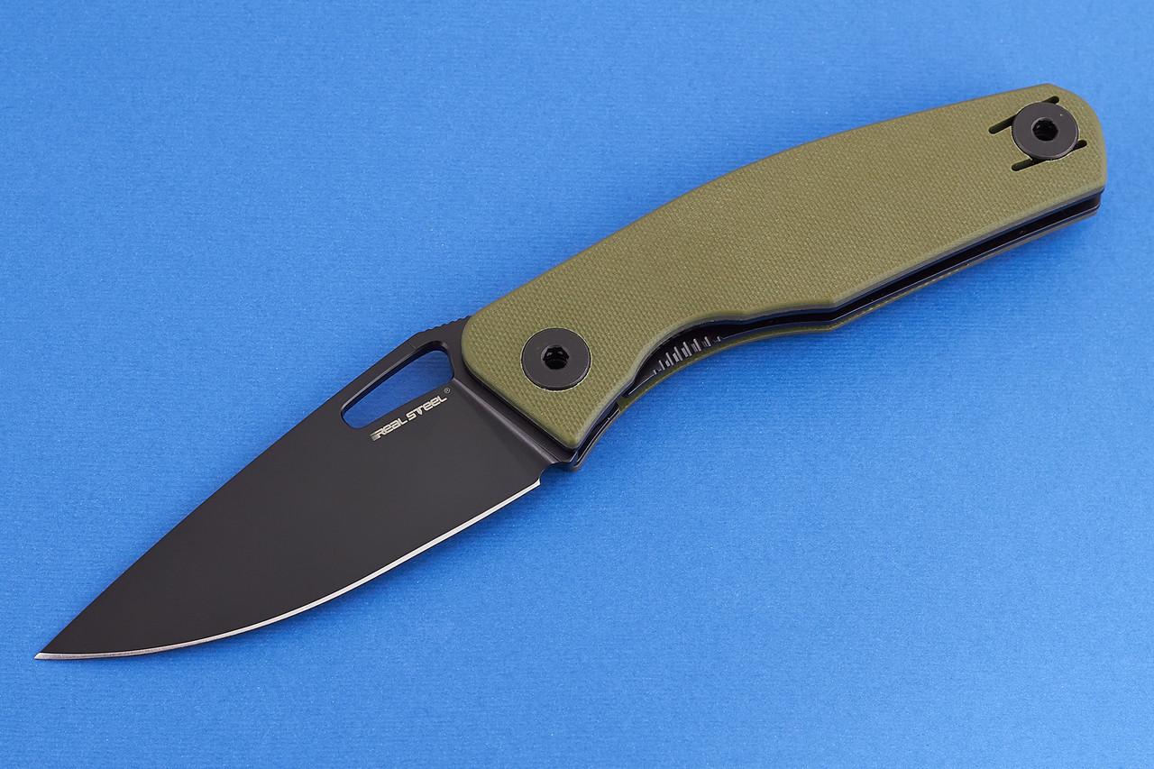 Нож складной Real Steel Terra Olive Green (7452)
