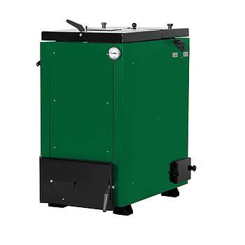 Шахтный твердотопливный котел длительного горения Макситерм 12 кВт